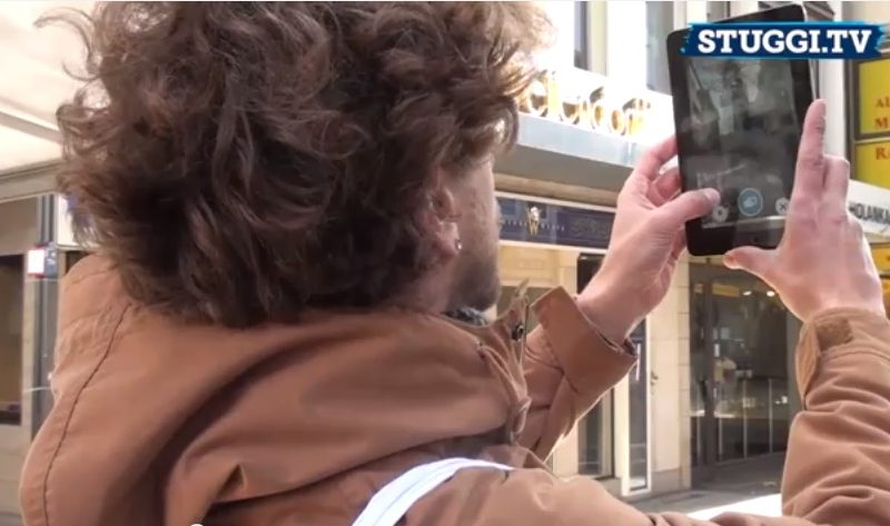 Spaziergang durch Stuttgart mit STUGGI.TV und der Zeitfenster-App