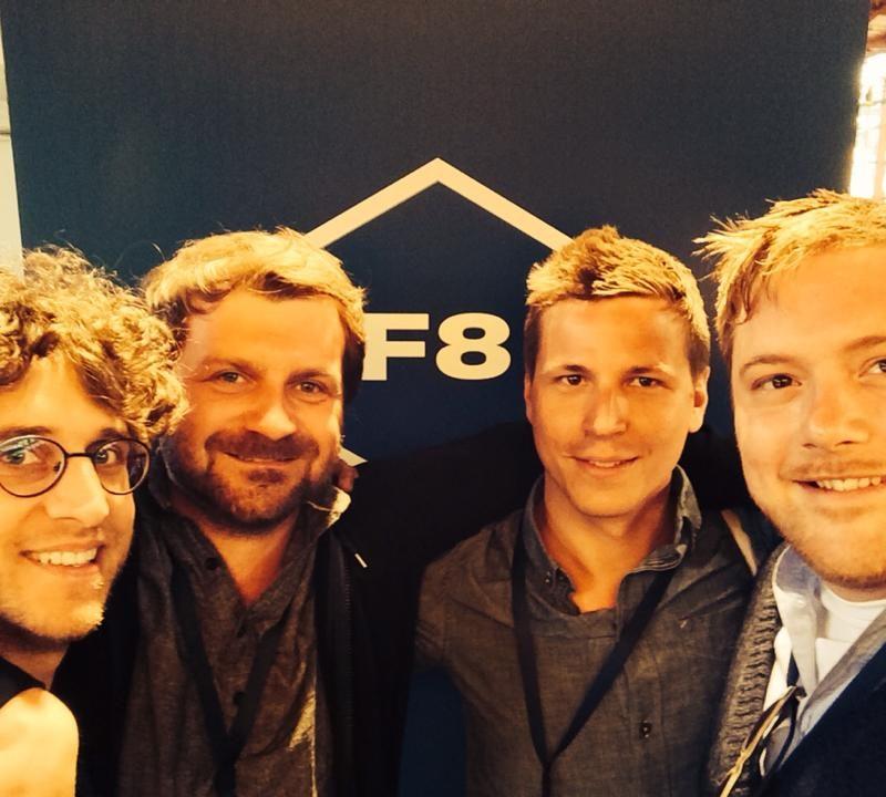 Zeitfenster Team auf der F8 von Facebook